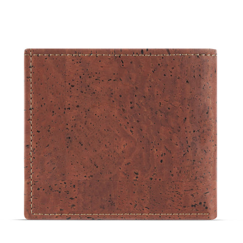 Classic Vegan Wallet - Red