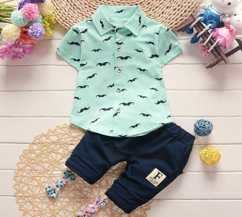 Moustache Boy Clothing Sets