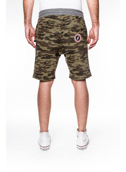 Short Terry Camouflage Kaki