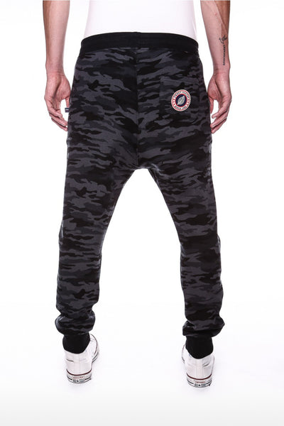 Loose Camouflage Black