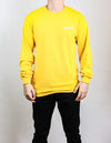 Yellow Long Sleeve with Print on Back