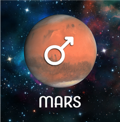 Mars, Ruling Planet of Aries