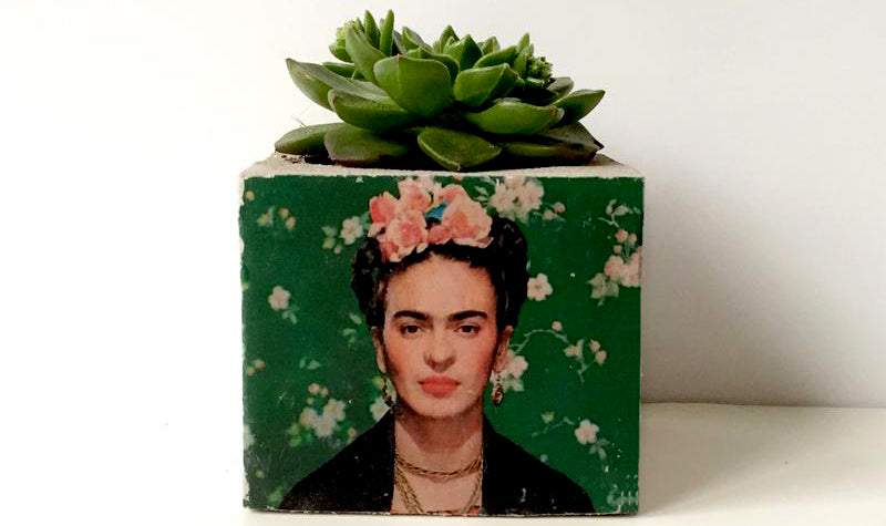 B.ton works Frida saksı Bonvagon