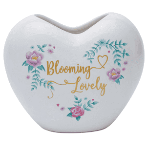 Blooming Lovely Kalp Saksı