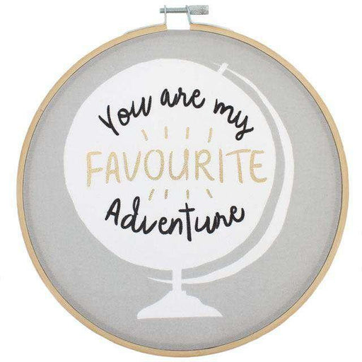 You Are my Favourite Adventure Dekoratif Kasnak 20cm Bonvagon