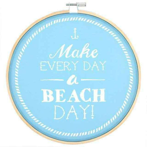 Make Everyday a Beach Day Dekoratif Kasnak 20cm Bonvagon