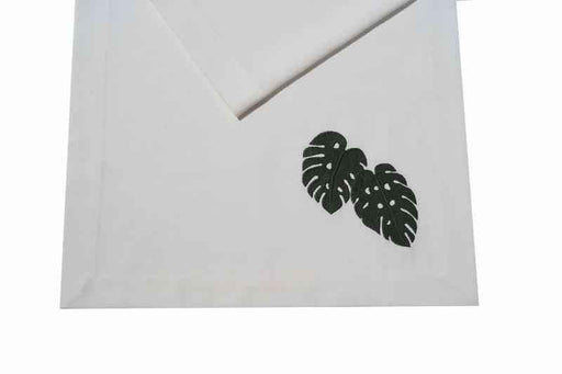 Nature Monstera Runner Golden Table
