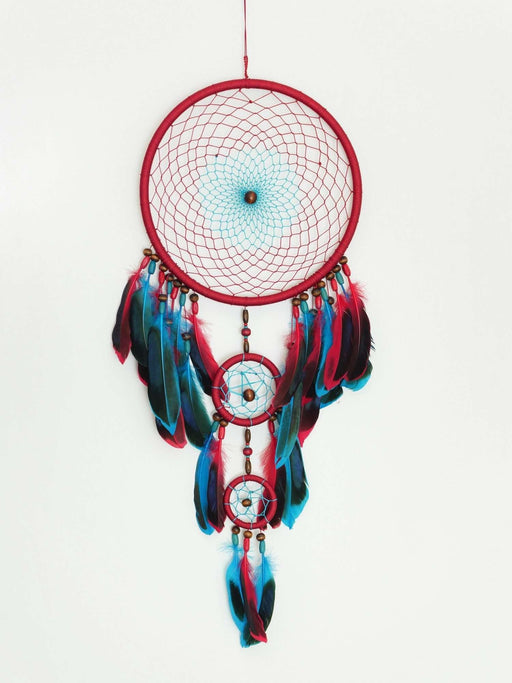 Bordo Düş Kapanı, Dreamcatcher 60cm Bonvagon