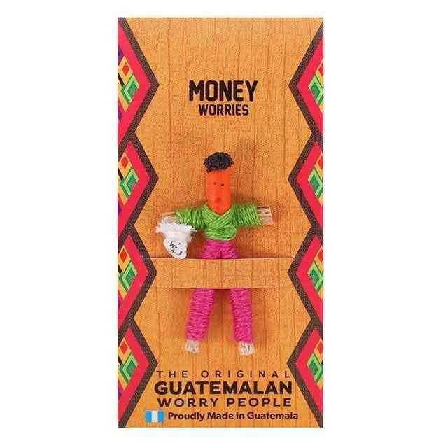 Money Worry Doll Minyatür Bebek 3cm Worry People