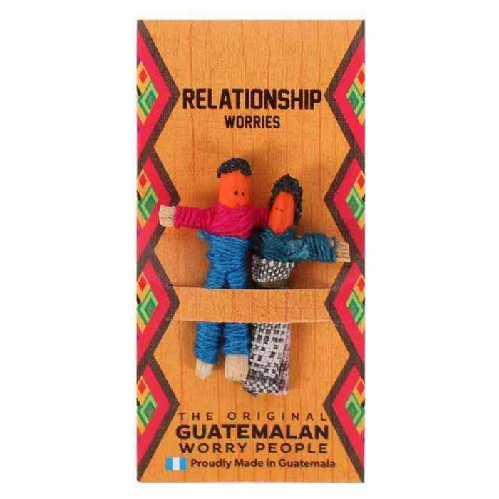 Relationship Worry Doll Minyatür Bebek 3 cm Worry People