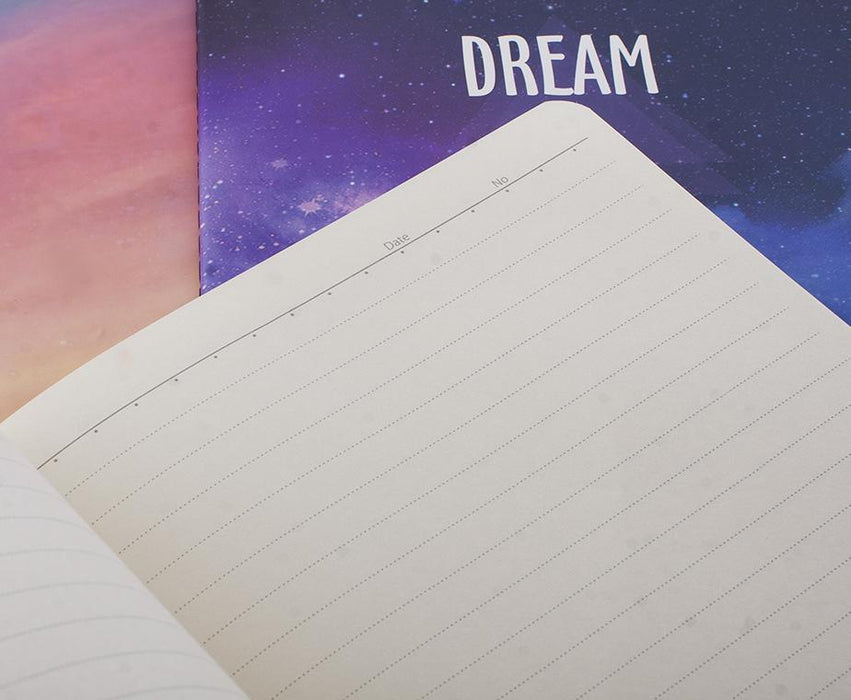 Dream And Explore Sarı B5 Defter Bonvagon