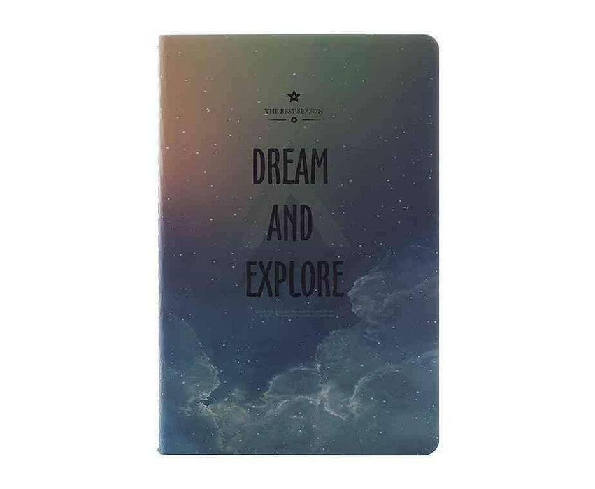 Dream And Explore Mavi A5 Defter