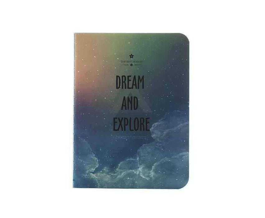 Dream And Explore Mavi A6 Defter