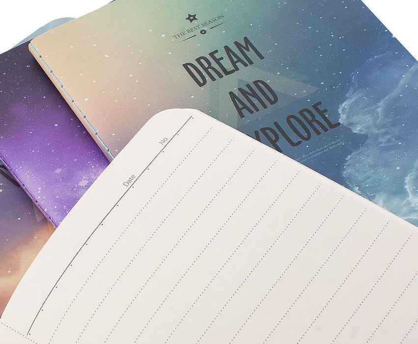 Dream And Explore Mavi A6 Defter Bonvagon