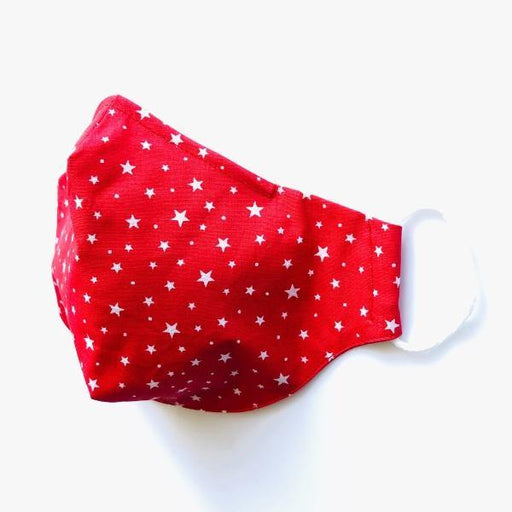 Bonvagon Maske Red Mini Stars