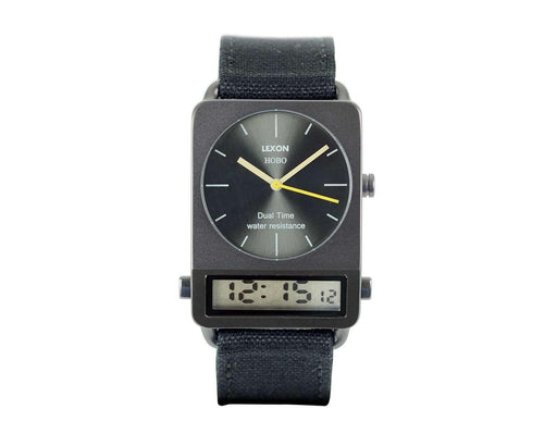 Lexon Hobo Watch Siyah - Bonvagon
