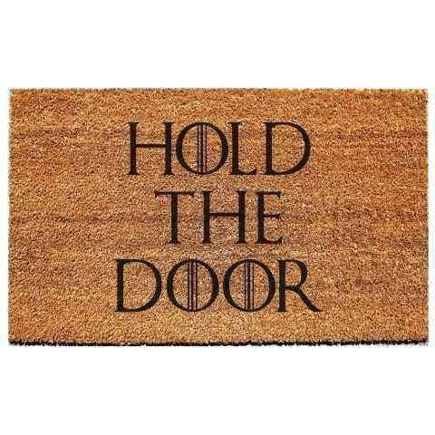 Hold The Door Paspas 60x40cm Bonvagon