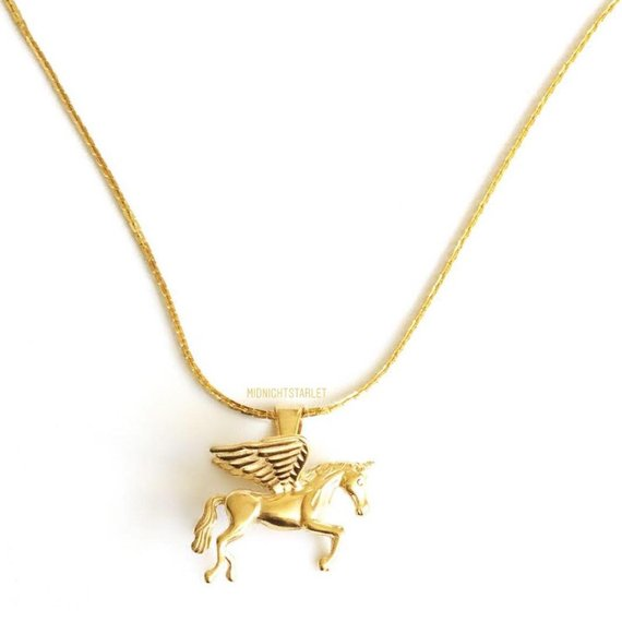 Peggy The Pegasus Necklace