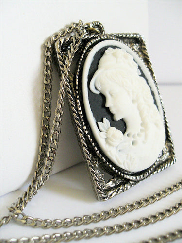 Amelia Vintage Cameo Necklace