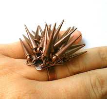Penelope Porcupine Cocktail Ring