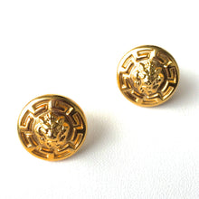 ELAINE Lion's Roar Stud Earrings. Fast Shipping from USA with Tracking 4 US Buyers. Will Arrive in Gift Box with Ribbon.