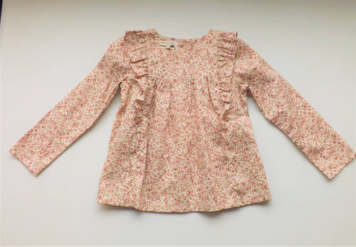 Pink Hortensia Blouse