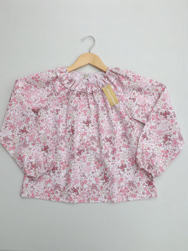 Pink Flowers Florencia Dalila Blouse