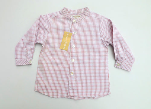 Red Striped Baby Shirt