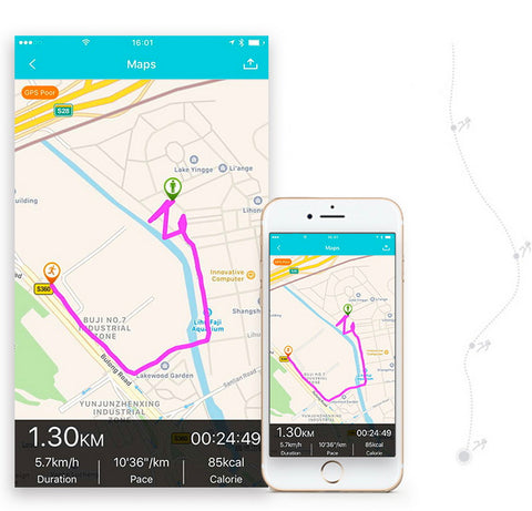 GPS Route Tracking and Pace Monitor