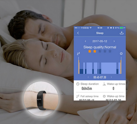 Smart Fit Band Sleep Monitor