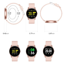 1st Gen Full Touchscreen Smart Fit Watch For Women Round Face Design