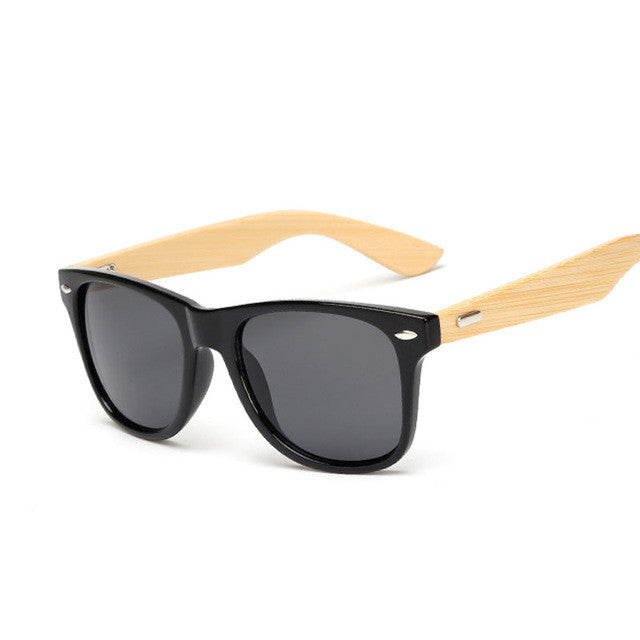 Bamboo UV 400 Running Sunglasses