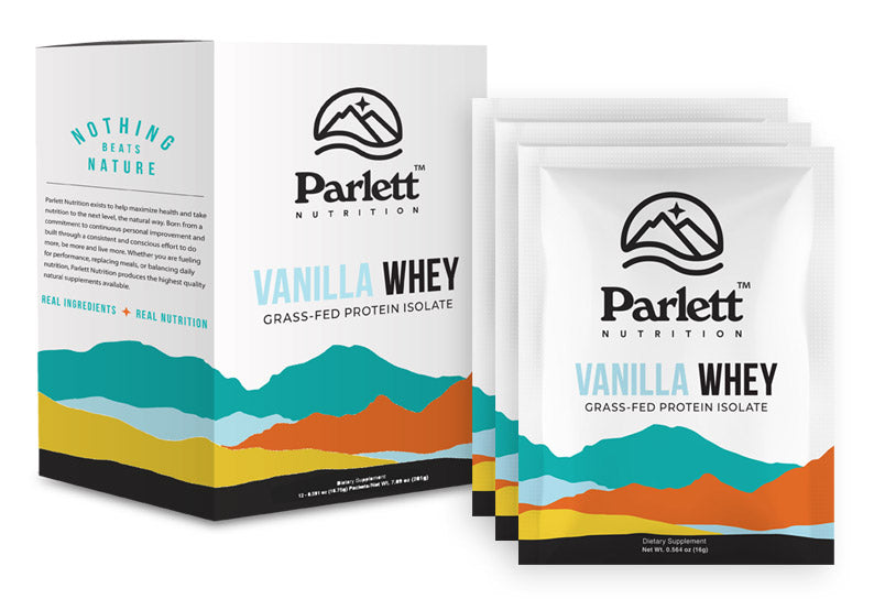 Single Serve Vanilla Whey Protein Isolate