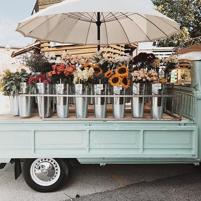 Flower Truck on Commercial Street Springfield, MO