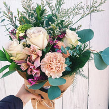 Whimsical flower bouquet for bouquet subscription