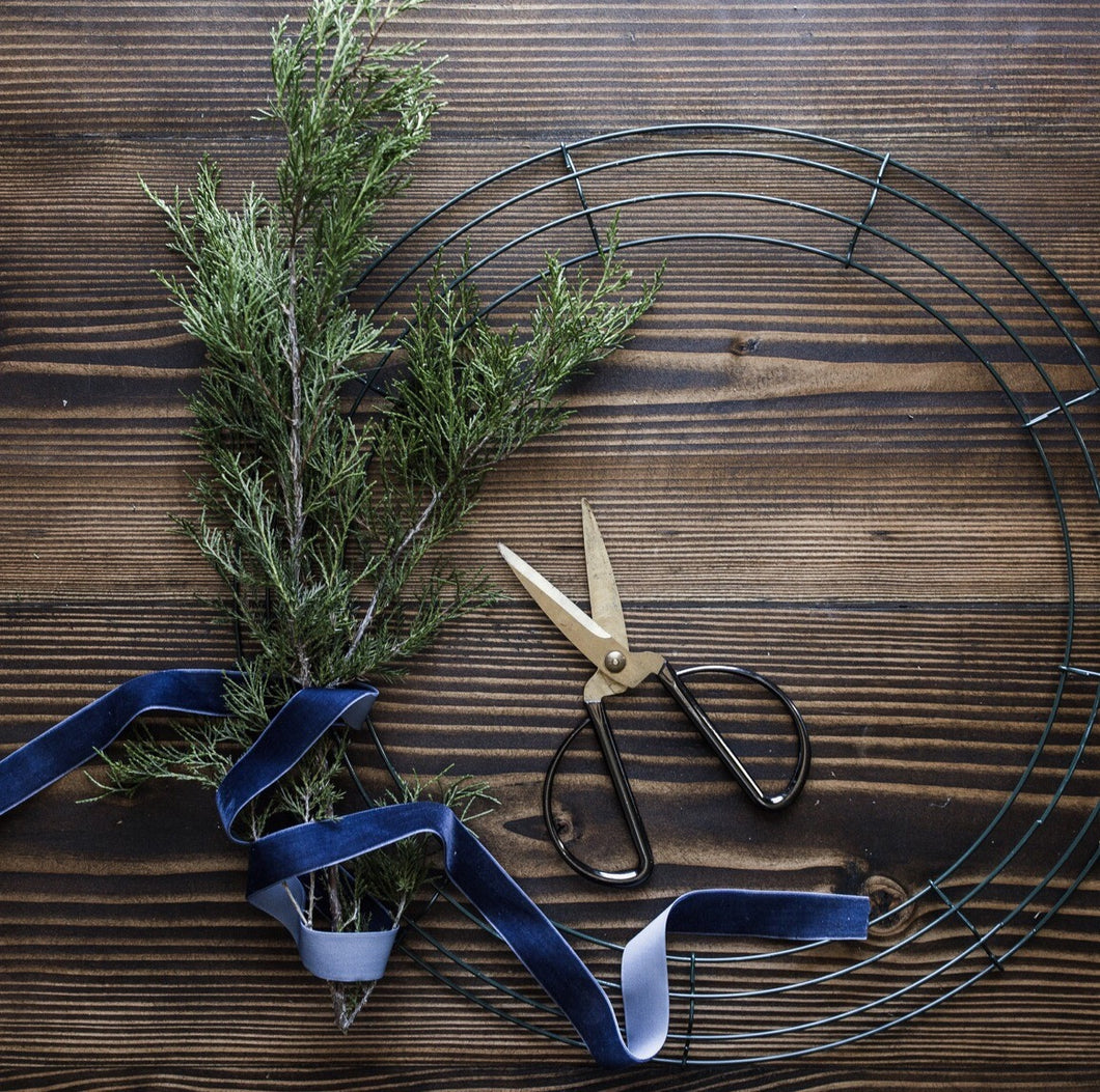 Holiday Wreath Workshop at the Co-Op Venue