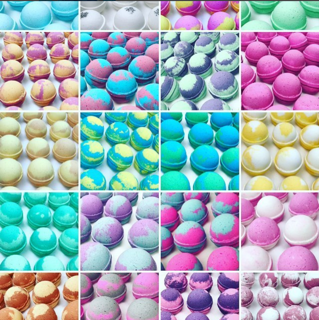 Assorted Wholesale Bath Bomb Samples