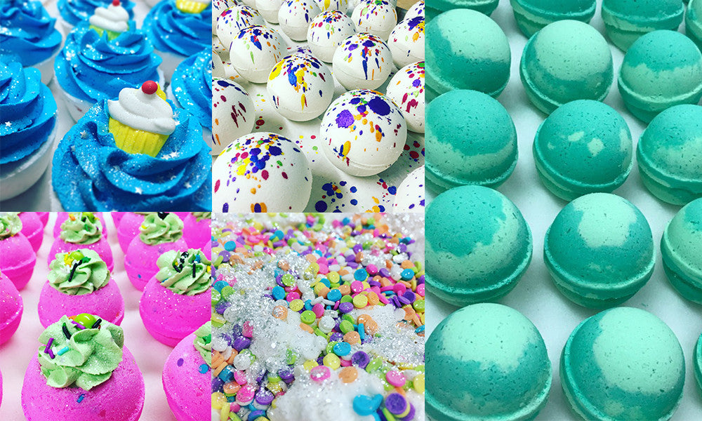 Wholesale Bath Bombs by Made Natural