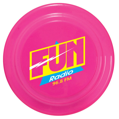 Frisbee with logo