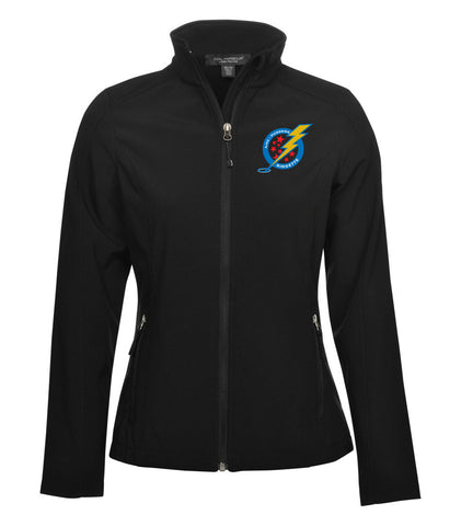 A/P Ringette Soft shell Black Jacket