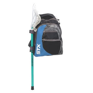STX Sidewinder Lacrosse Backpack - Black/Columbia