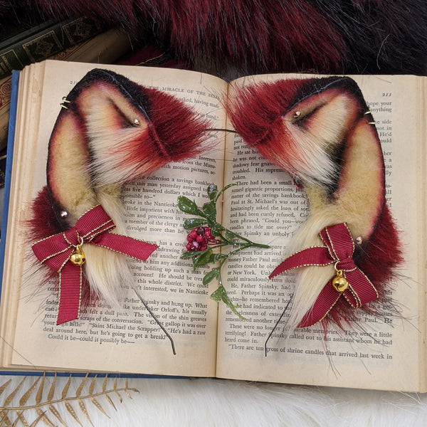 Red and gold fox set