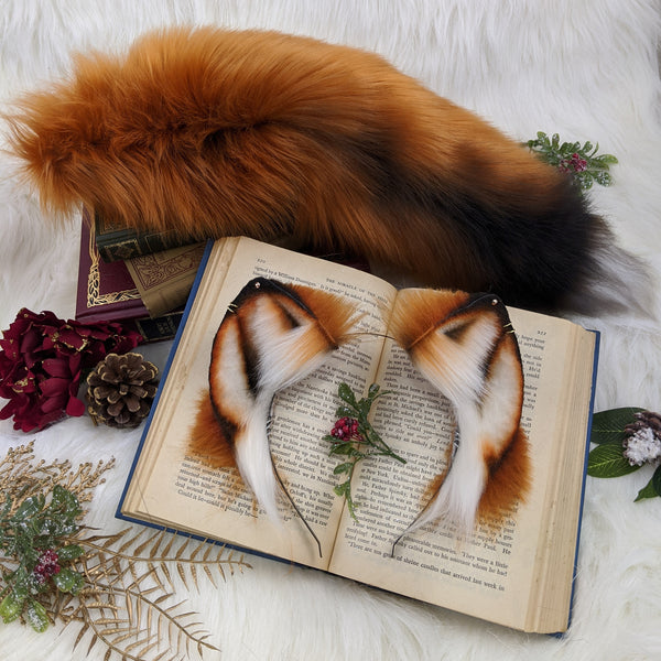 Red fox set