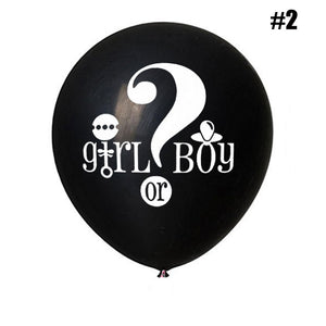 36 Inch Gender Reveal Confetti Balloon (1pc) - Baby Reveal Party