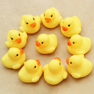 Squeezable Baby Rubber Ducks (10pcs) - Baby Reveal Party