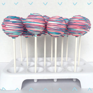 Gender Reveal Cake Pops (12) - Baby Reveal Party
