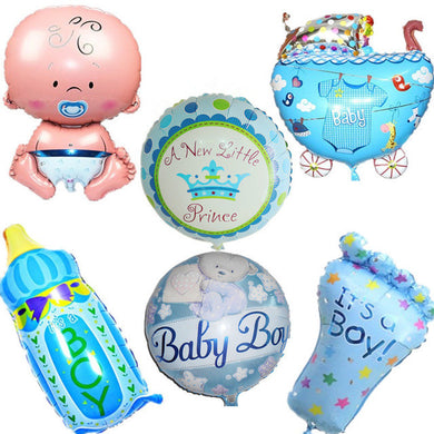 It's a Boy!/Girl! Balloon Assortment (6 pcs) - Baby Reveal Party