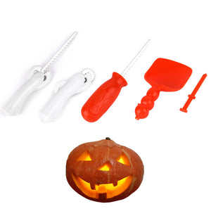 Jack-or-Jill-o'-Lantern Carving Set - Baby Reveal Party