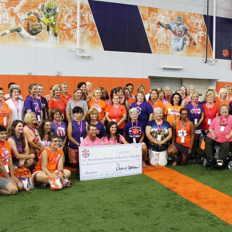 So proud to be a part of the Dabo Swinney Ladies Clinic!