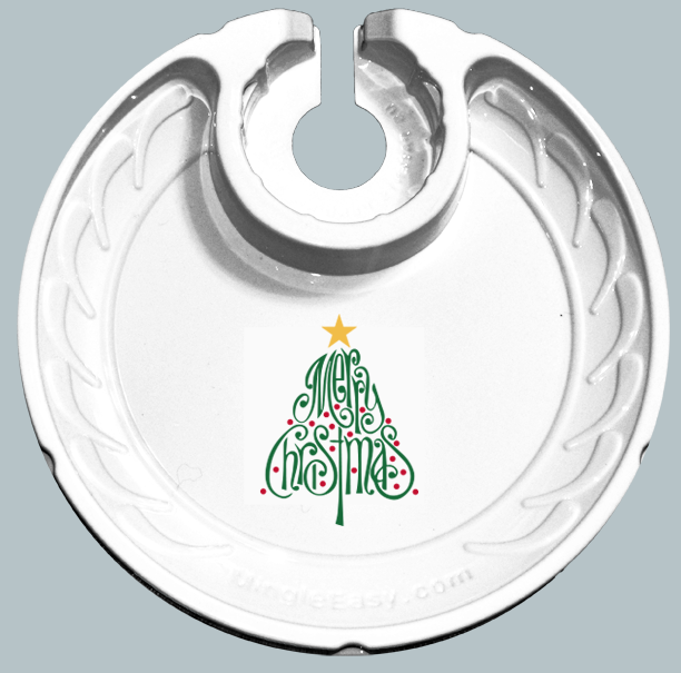Holiday Christmas Tree (Box of 6 Plates)